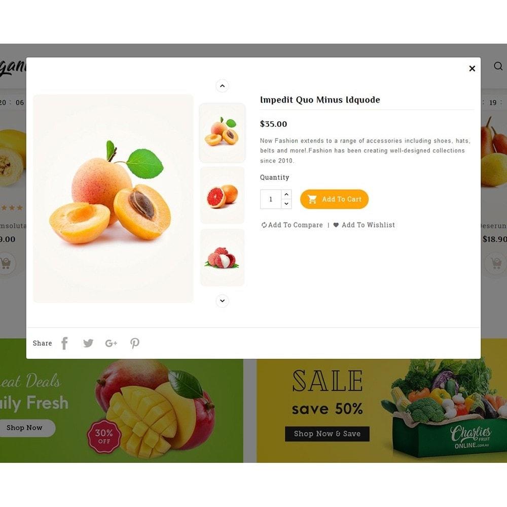 theme - Food & Restaurant - Organics - Vegetables & Fresh Fruits - 8