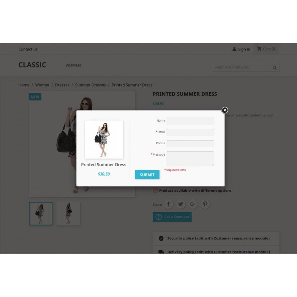 module - Formulário de contato & Pesquisas - Consulta do produto, cotação do produto - 11