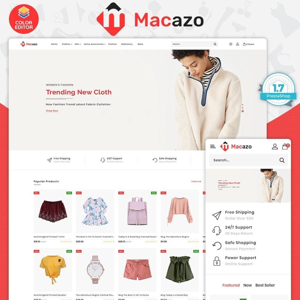 theme - Fashion & Shoes - Macazo - The Fashion Store - 1