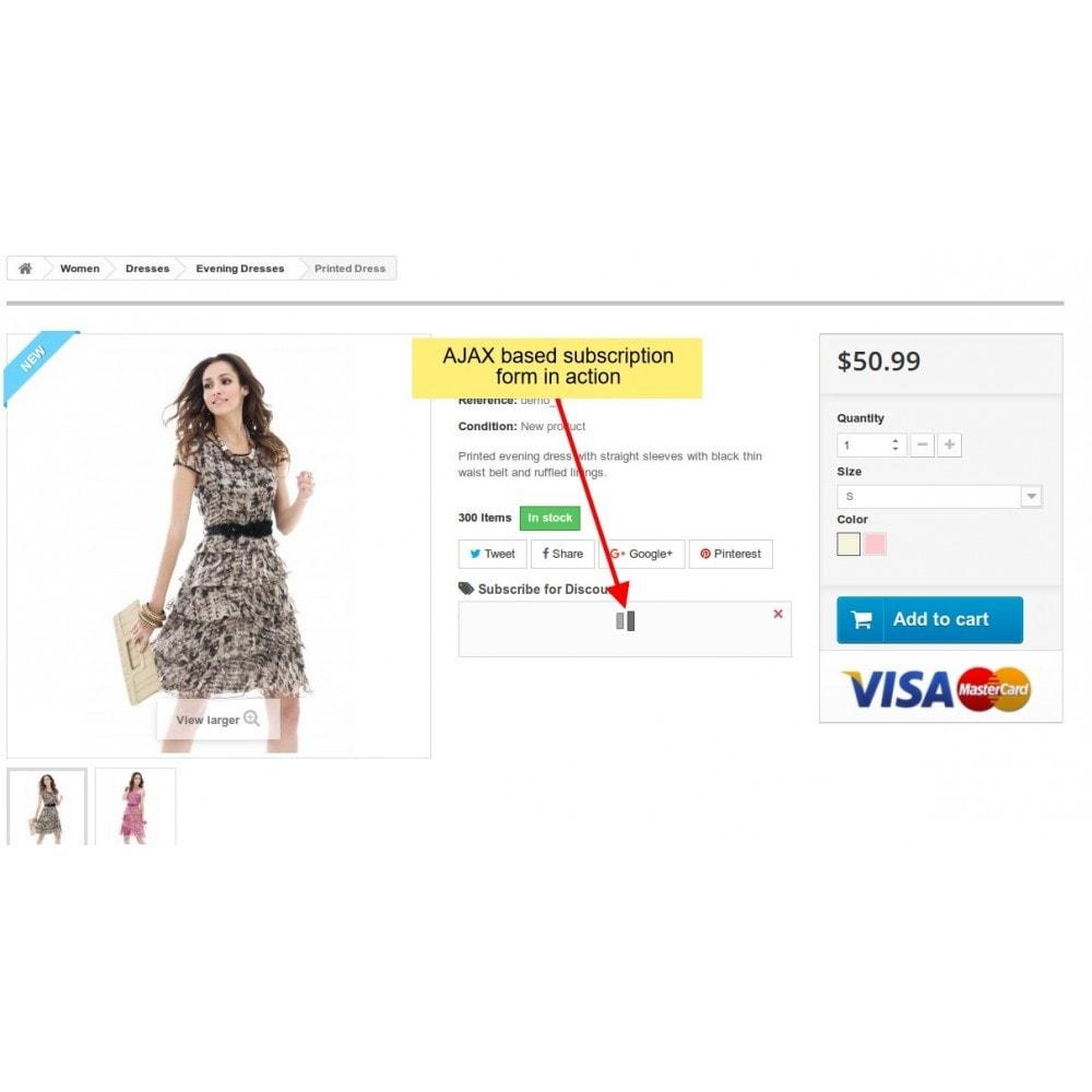 module - E-Mails & Benachrichtigungen - Rabatt Benachrichtigung, Product Benachrichtigungen - 4