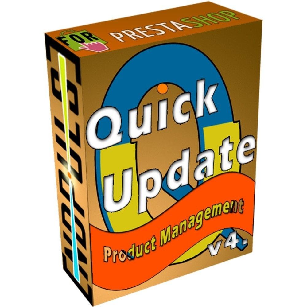 module - Szybkie & Masowe edytowanie - QuickUpdate Product Management - 1