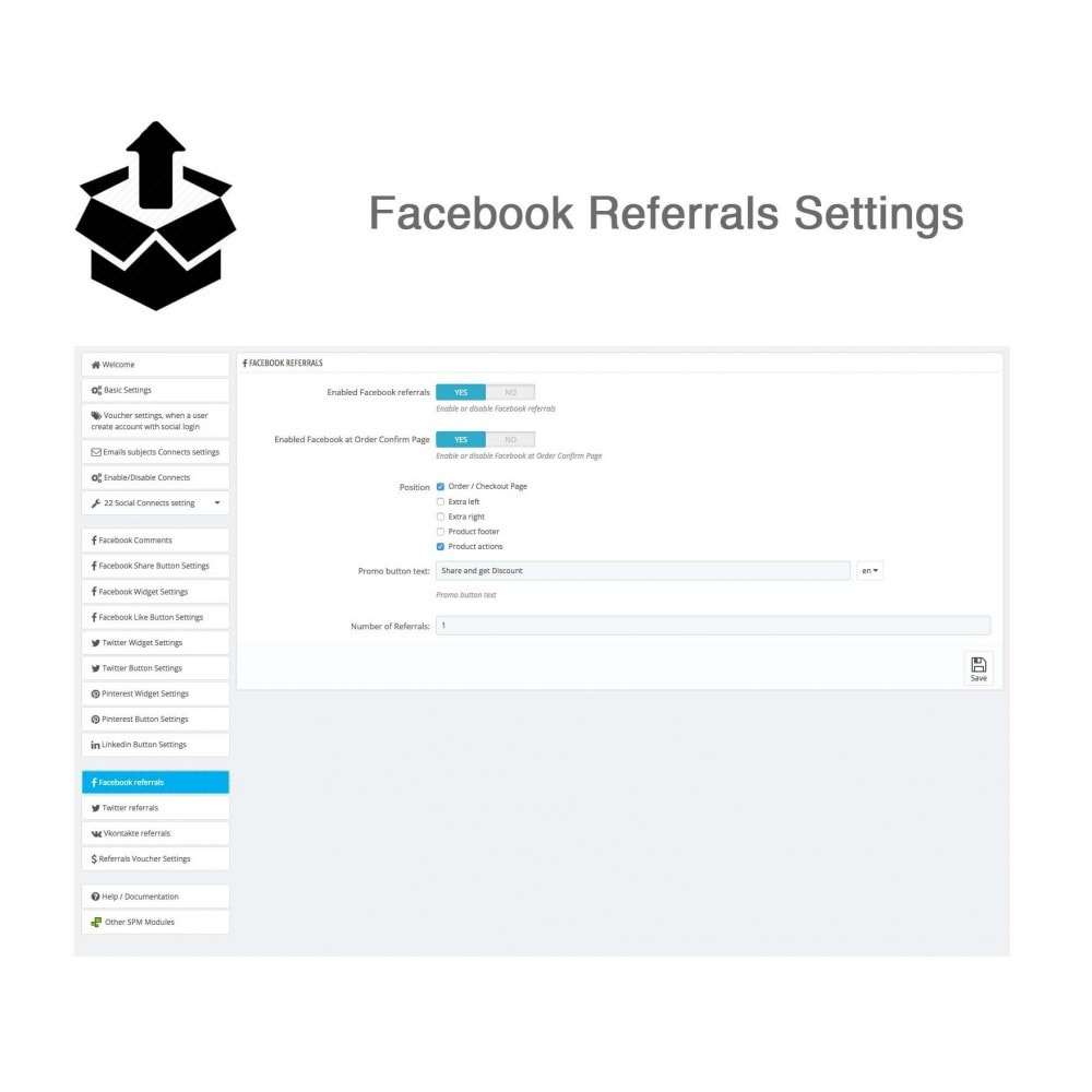 module - Social Login & Connect - Social Pack: Connects, Referrals, Plugins (34 in 1) - 43