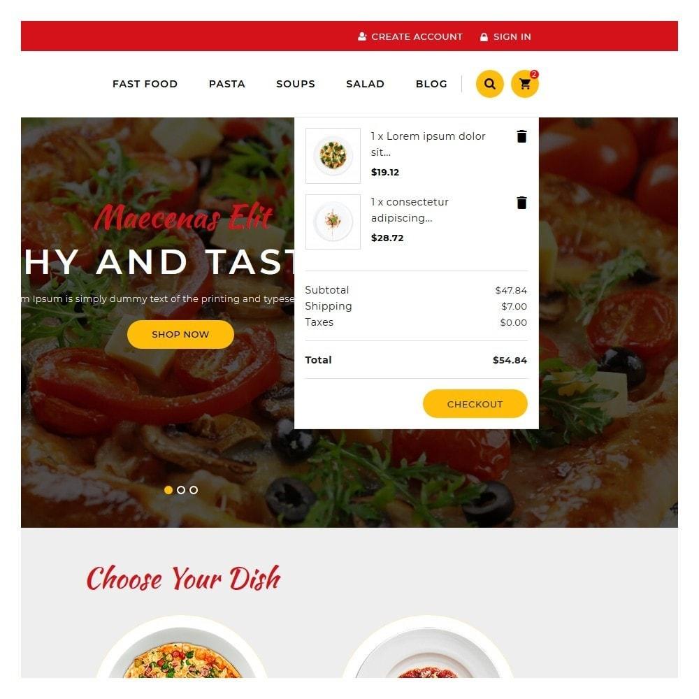 theme - Żywność & Restauracje - Delicious Food & Restaurant Store - 7
