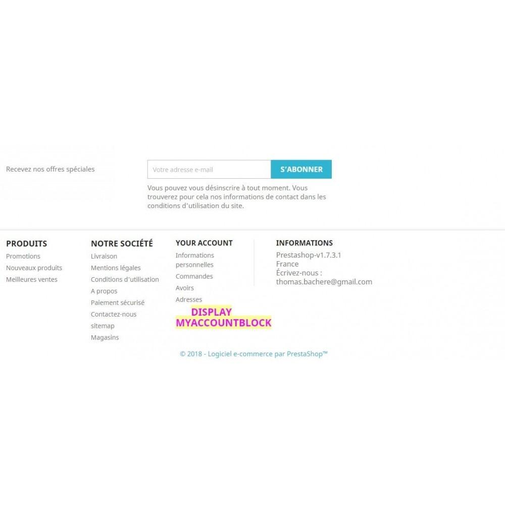 module - Outils d'administration - Bloc de contenu libre (CMS) multi-points d'accroche - 11