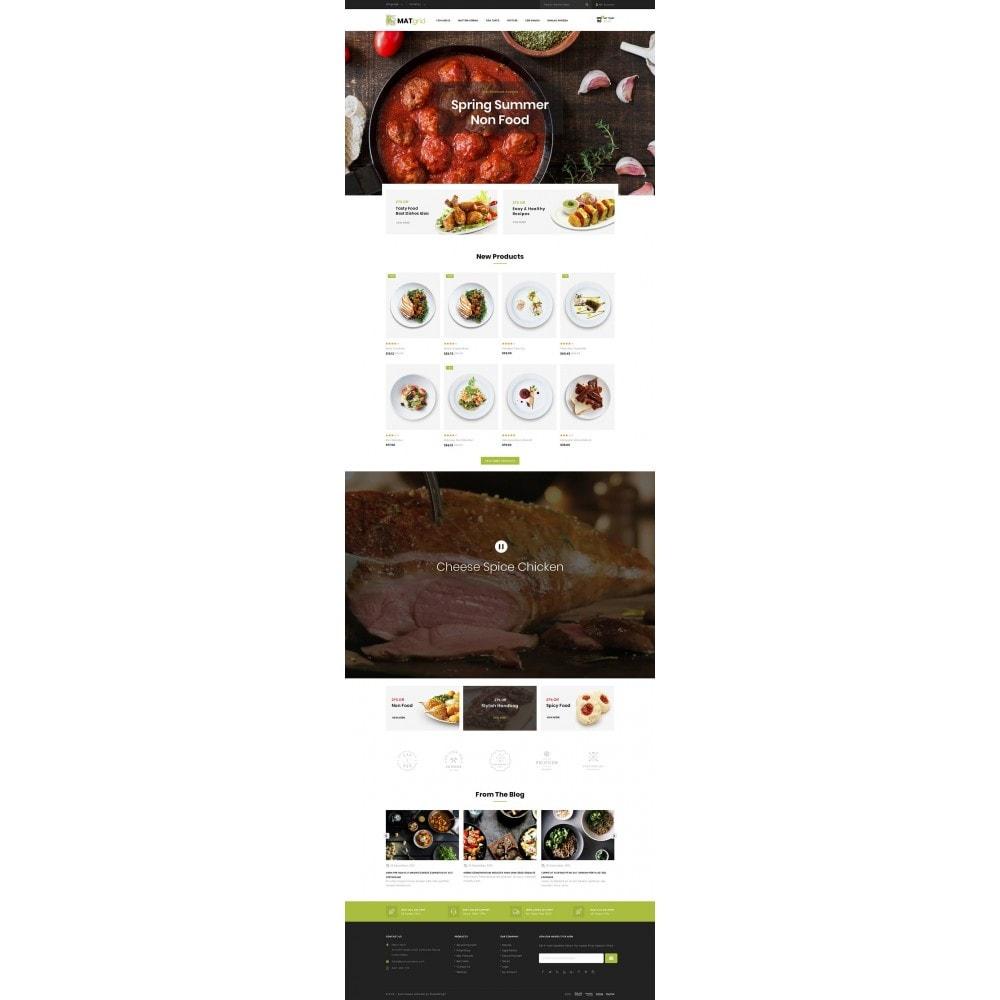 theme - Alimentos & Restaurantes - Matgrid - Restaurants Store - 2