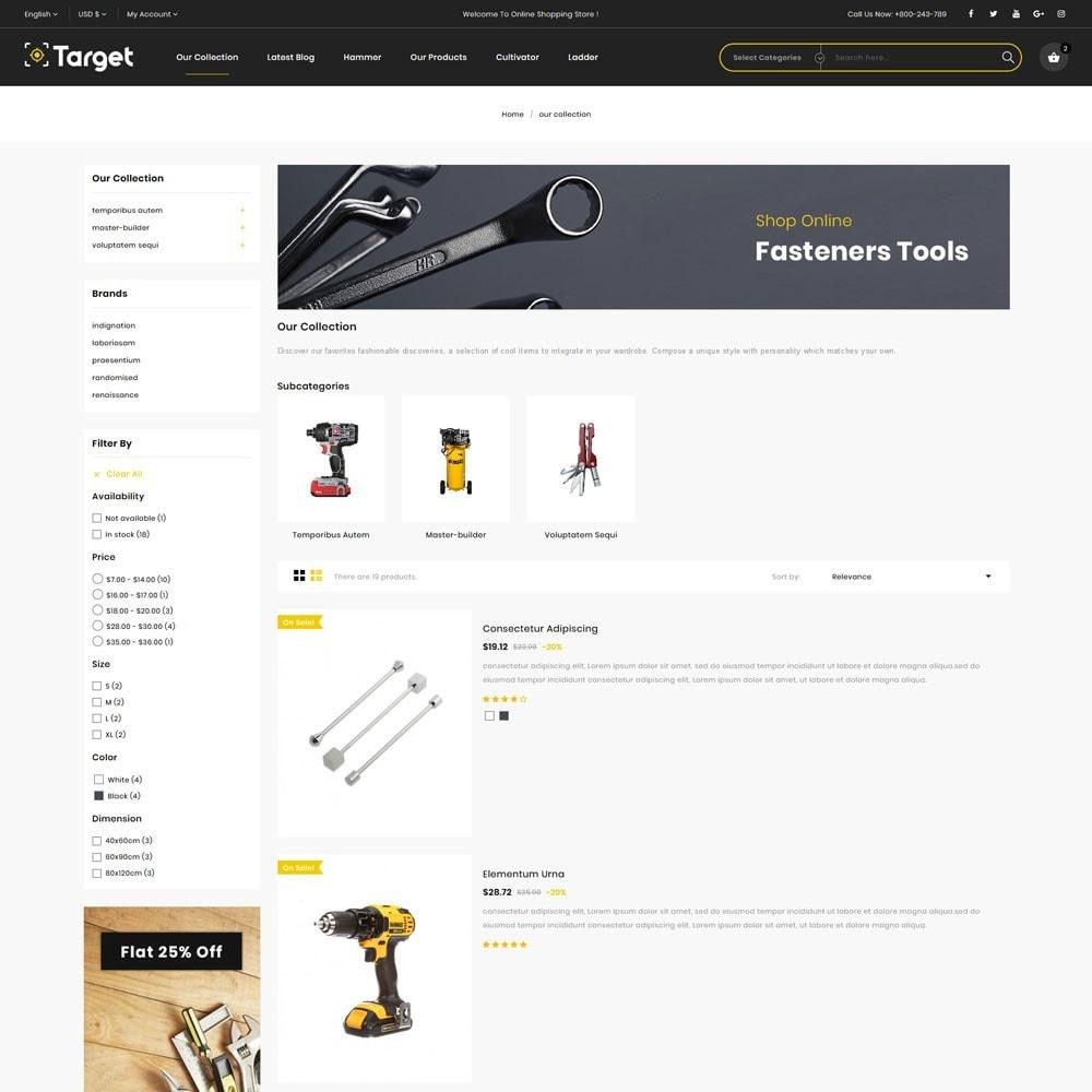 theme - Auto & Moto - Target - Le magasin d'outils - 6