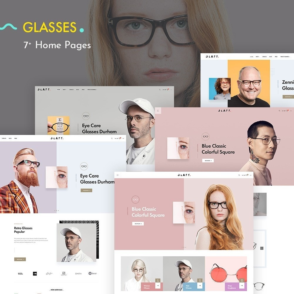 theme - Fashion & Shoes - Glasses - Fashion Store - 2