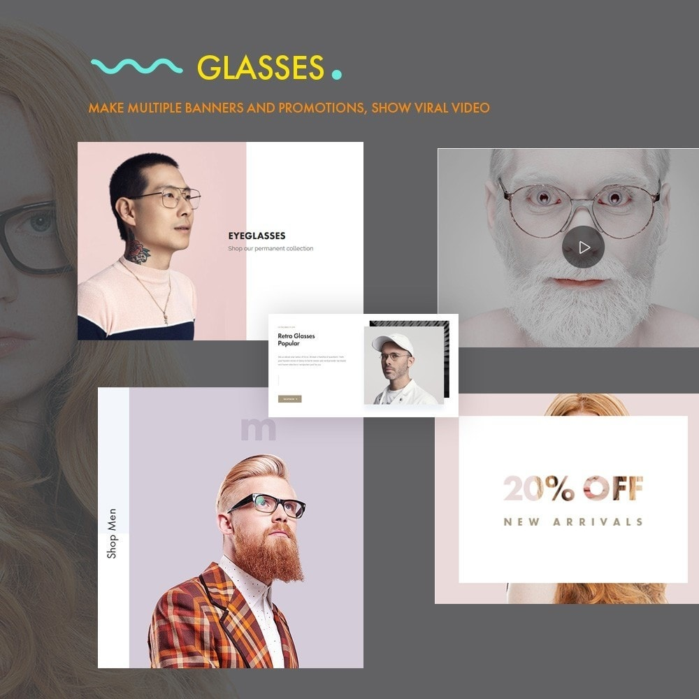 theme - Fashion & Shoes - Glasses - Fashion Store - 5