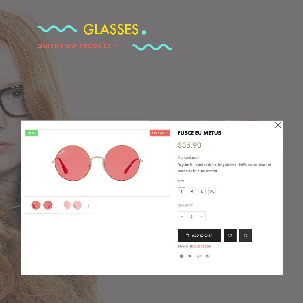 theme - Fashion & Shoes - Glasses - Fashion Store - 6