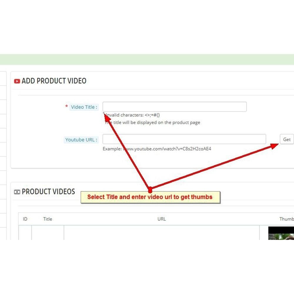 module - Wideo & Muzyka - Filmy produktów Youtube - 5