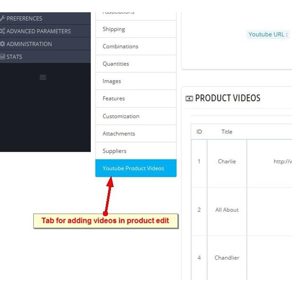 module - Vídeos & Música - Vídeos do produto do YouTube - 2