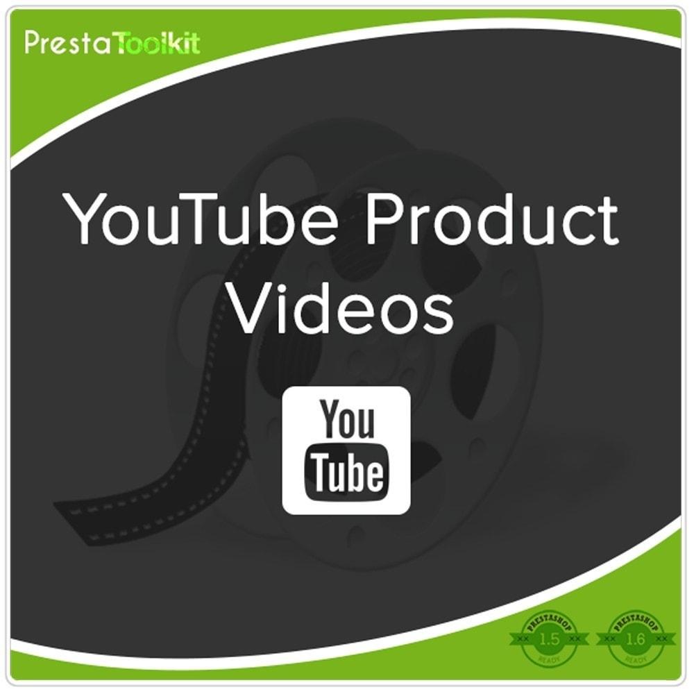 module - Видеоролики и Музыка - Видео о продуктах Youtube - 1