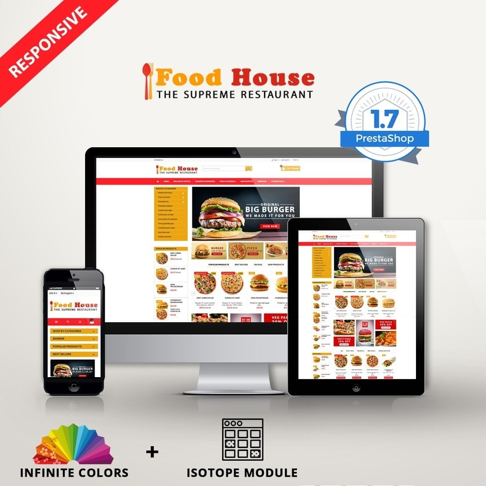 theme - Alimentos & Restaurantes - New Food House - Restaurant premium - 1