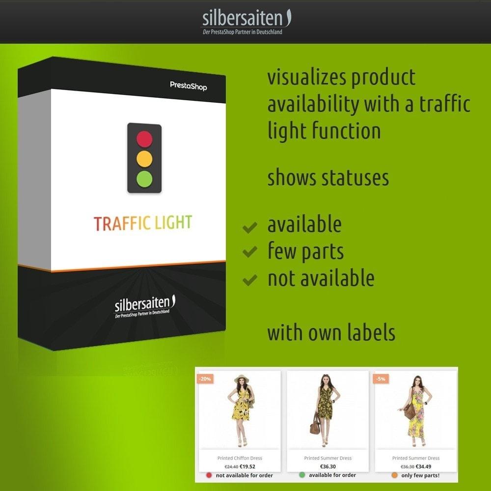 module - Informaciones adicionales y Pestañas - Traffic light function - Product availability - 1