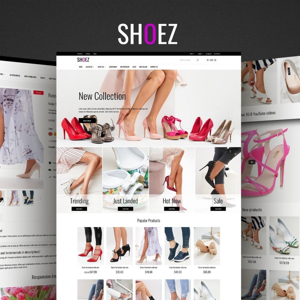 theme - Mode & Chaussures - Shoez - Fashion and shoes - 1