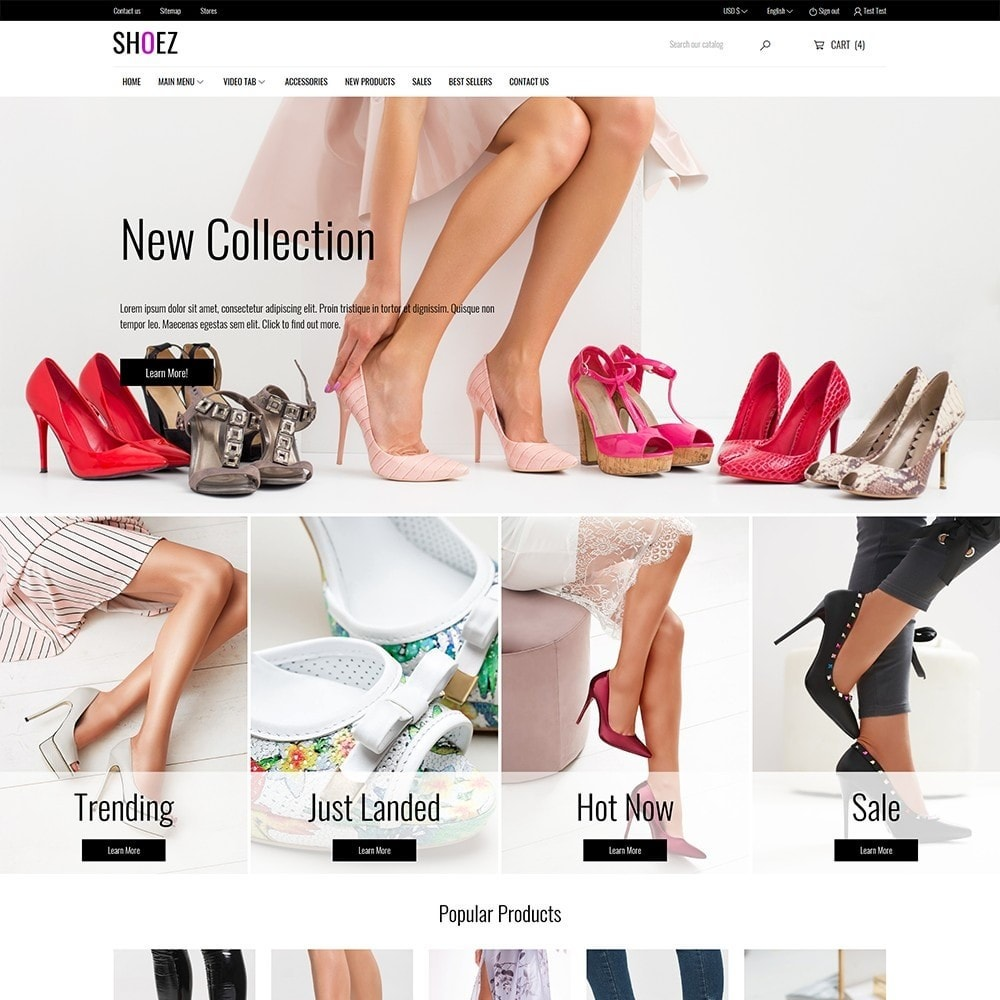 theme - Mode & Schoenen - Shoez - Fashion and shoes - 2