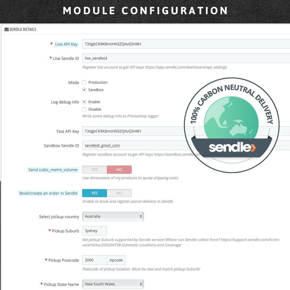 module - Corrieri - Sendle: Courier delivery - 4