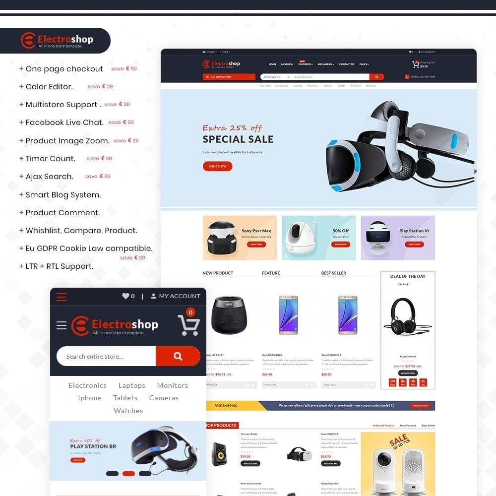 theme - Electronics & Computers - Electroshop - Multipurpose Mega Electronics Store - 1