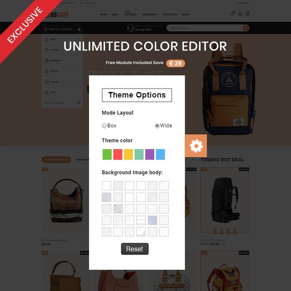 theme - Fashion & Shoes - Bagscart - Multiporpose Mega Bag Store - 3