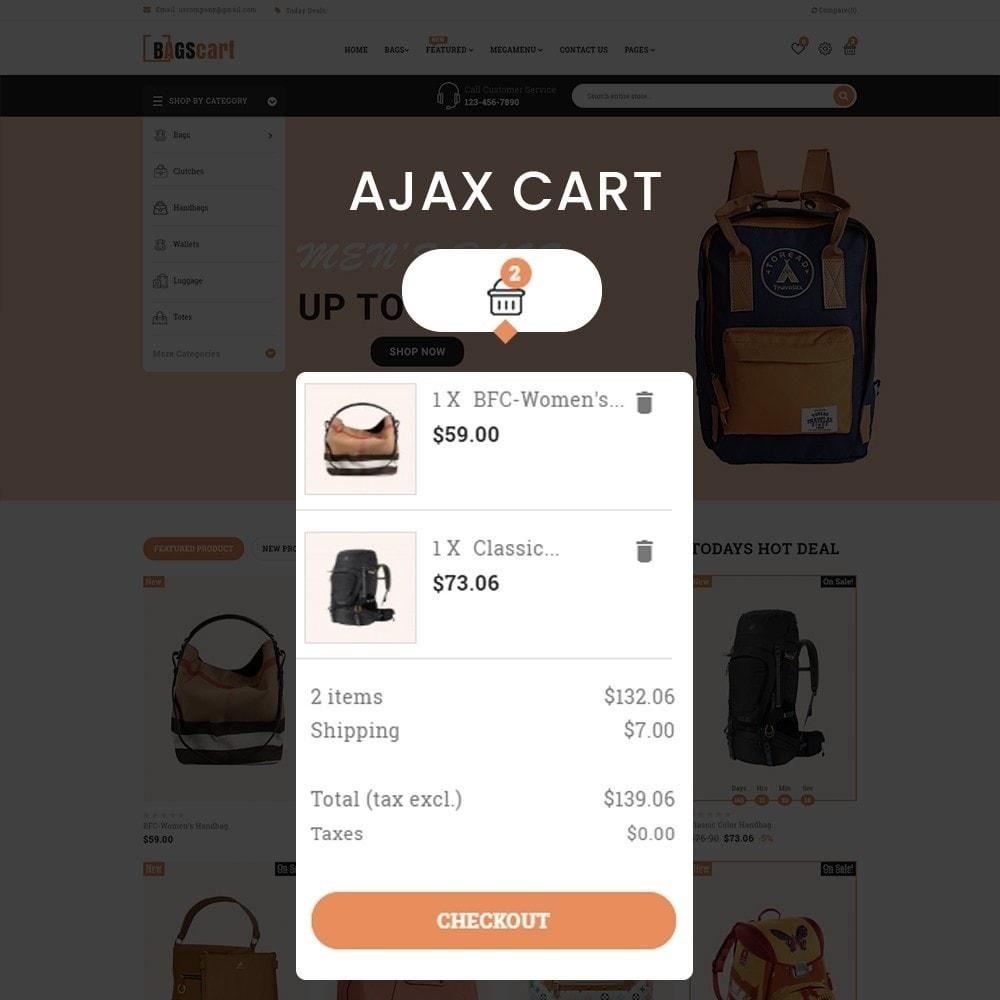theme - Fashion & Shoes - Bagscart - Multiporpose Mega Bag Store - 5