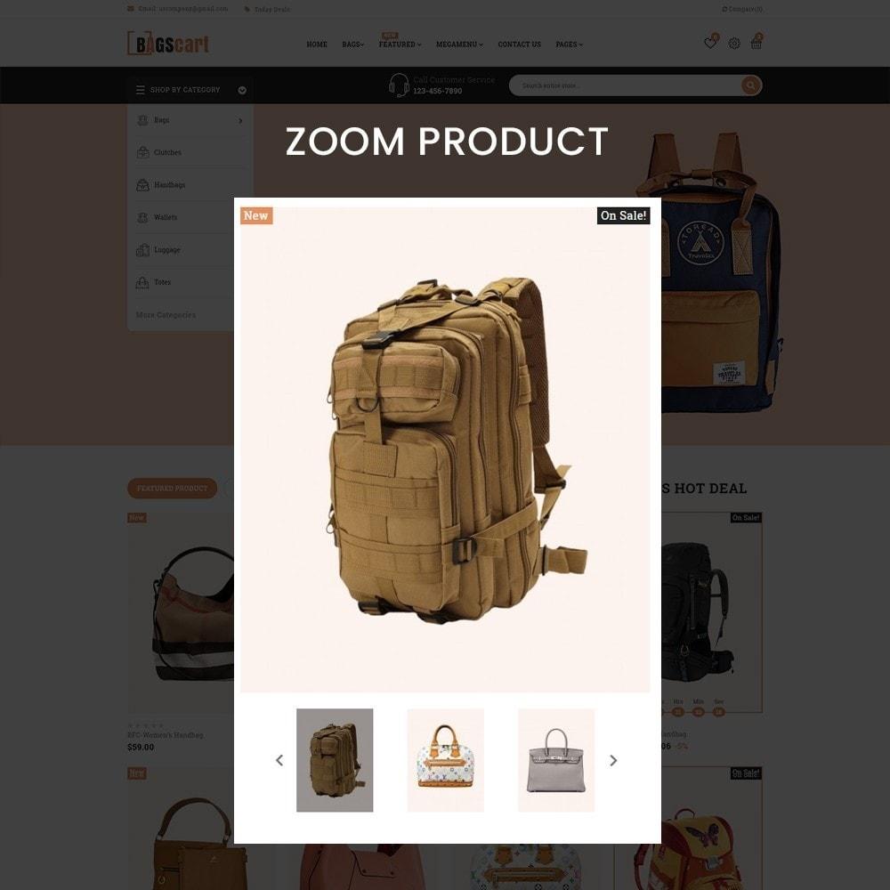 theme - Fashion & Shoes - Bagscart - Multiporpose Mega Bag Store - 9