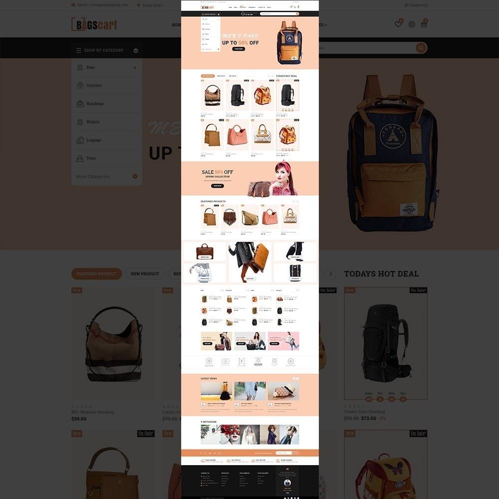 theme - Fashion & Shoes - Bagscart - Multiporpose Mega Bag Store - 10