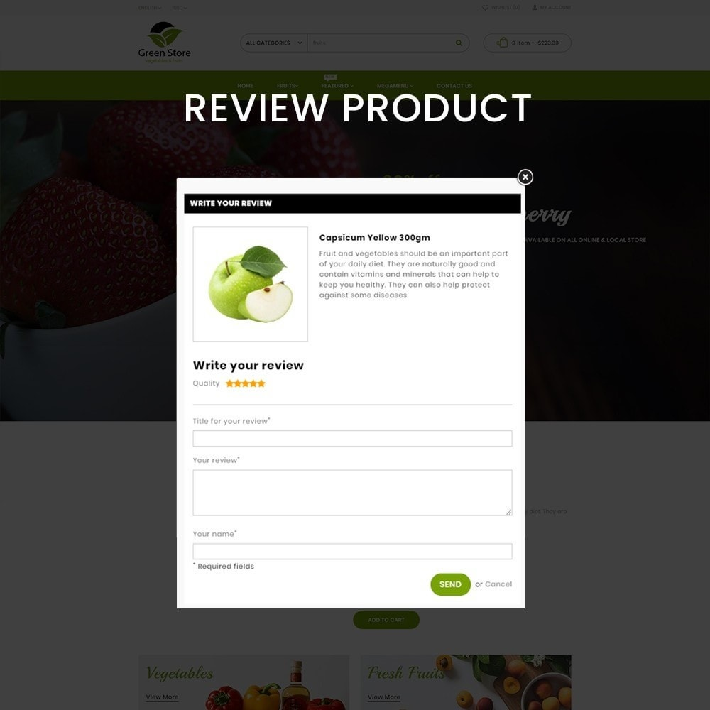 theme - Eten & Restaurant - Greenstore – Multipurpose Vegetable Store - 7