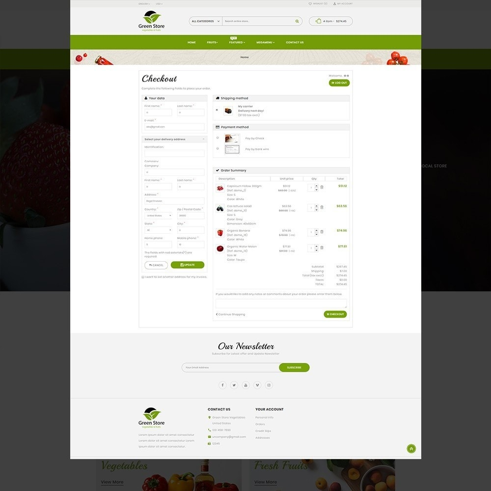 theme - Eten & Restaurant - Greenstore – Multipurpose Vegetable Store - 11