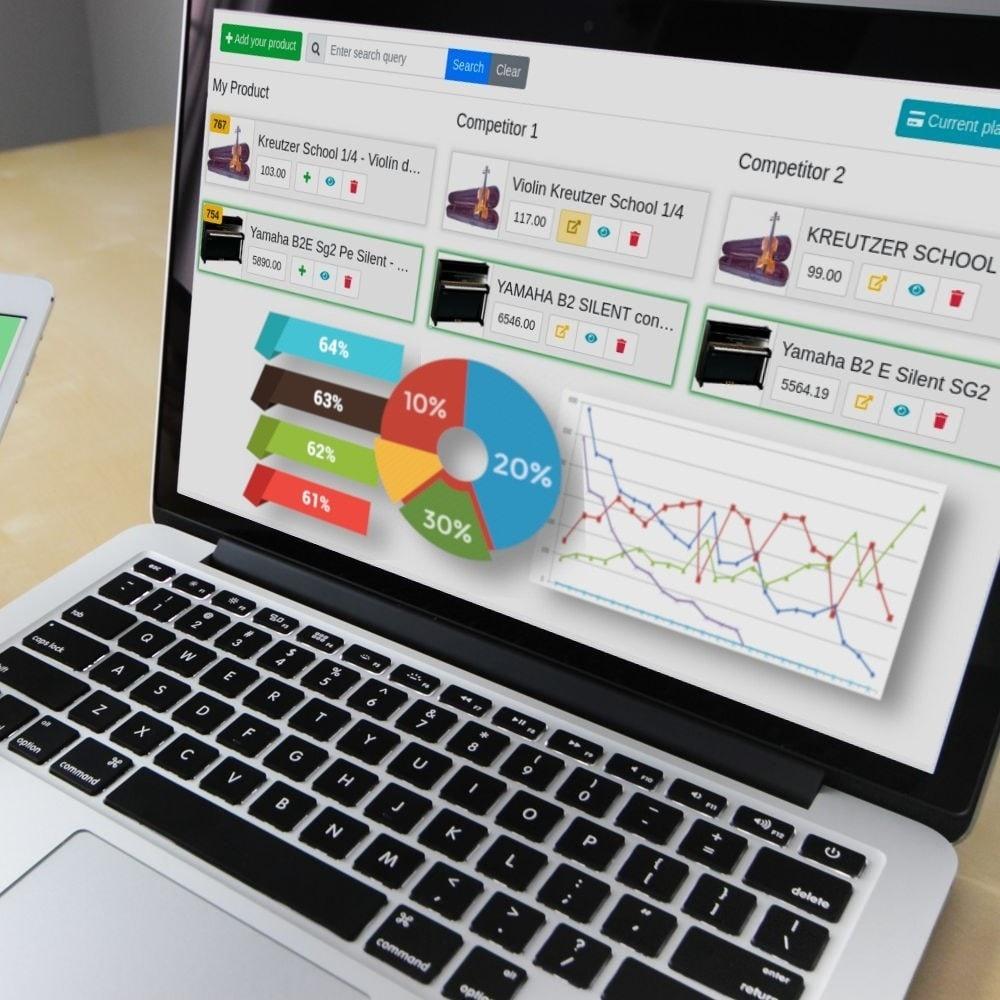 module - Informes y Estadísticas - PricePortal Competencia rastreada y pricing dinámico - 2