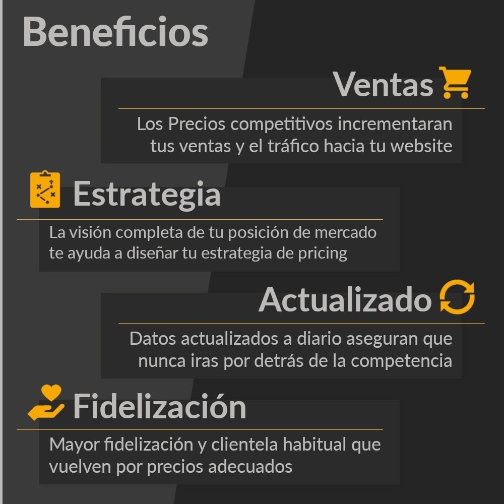 module - Informes y Estadísticas - PricePortal Competencia rastreada y pricing dinámico - 3