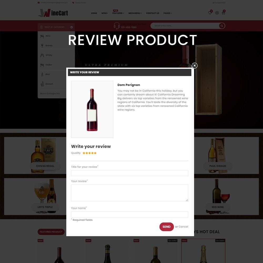 theme - Getränke & Tabak - Wine cart– Multipurpose Mega Wine Store - 7
