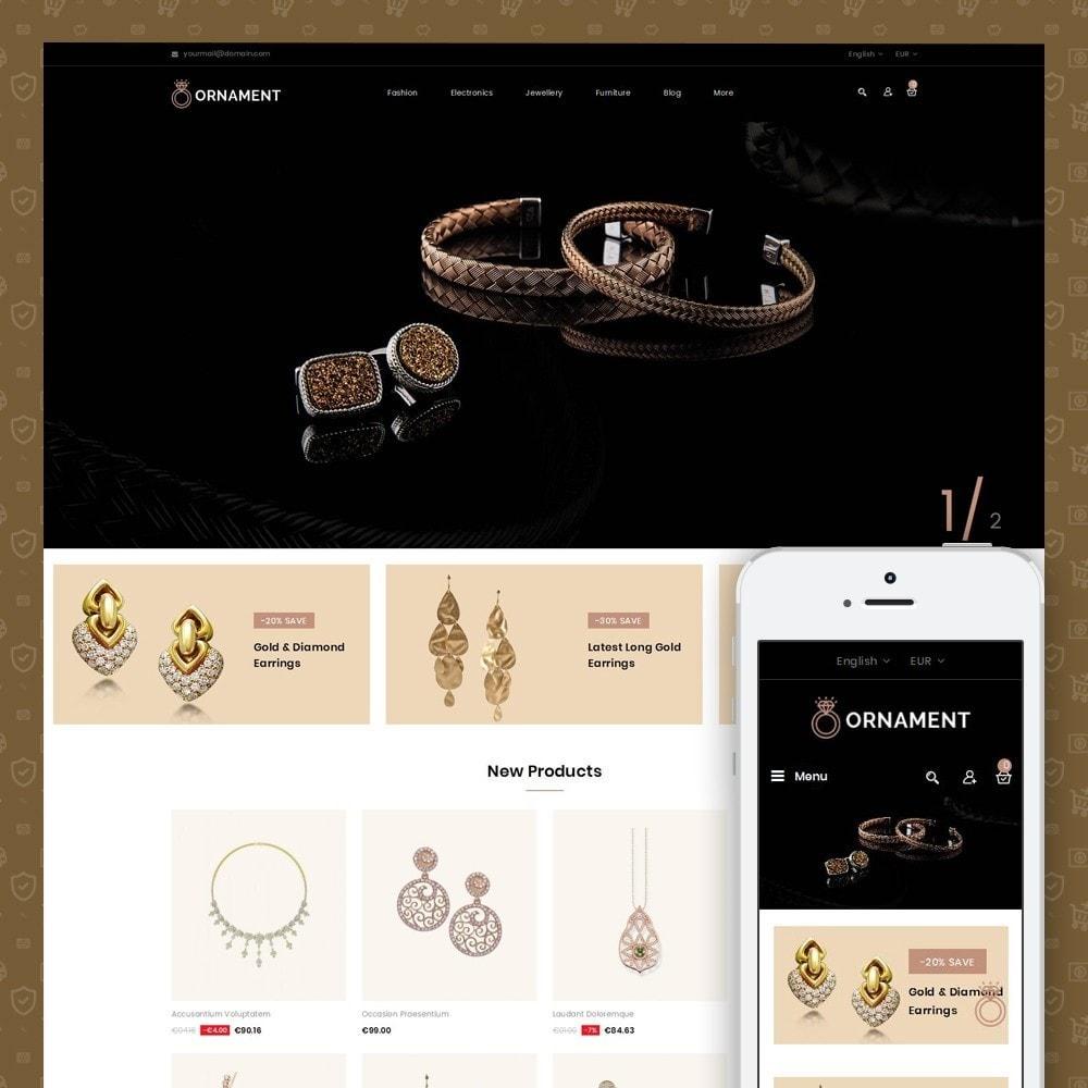 theme - Ювелирные изделия и Аксессуары - Ornament Jewelery Store - 1