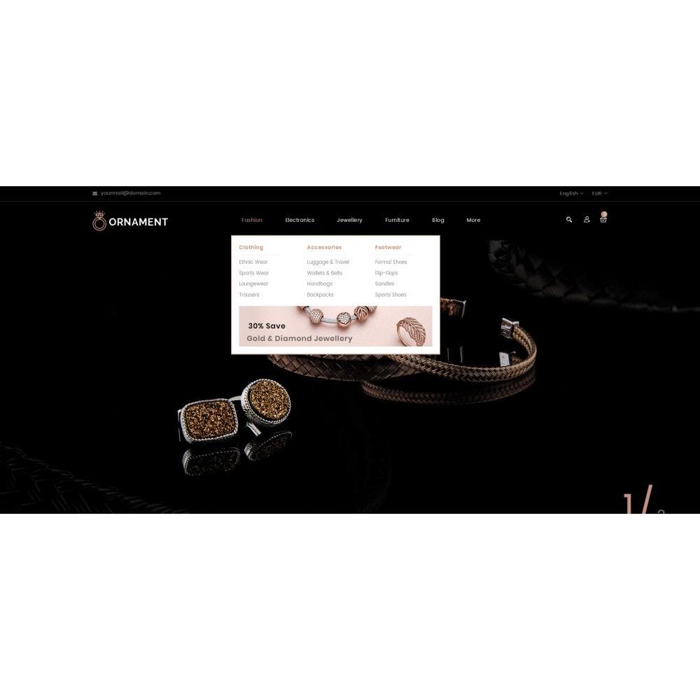 theme - Ювелирные изделия и Аксессуары - Ornament Jewelery Store - 6
