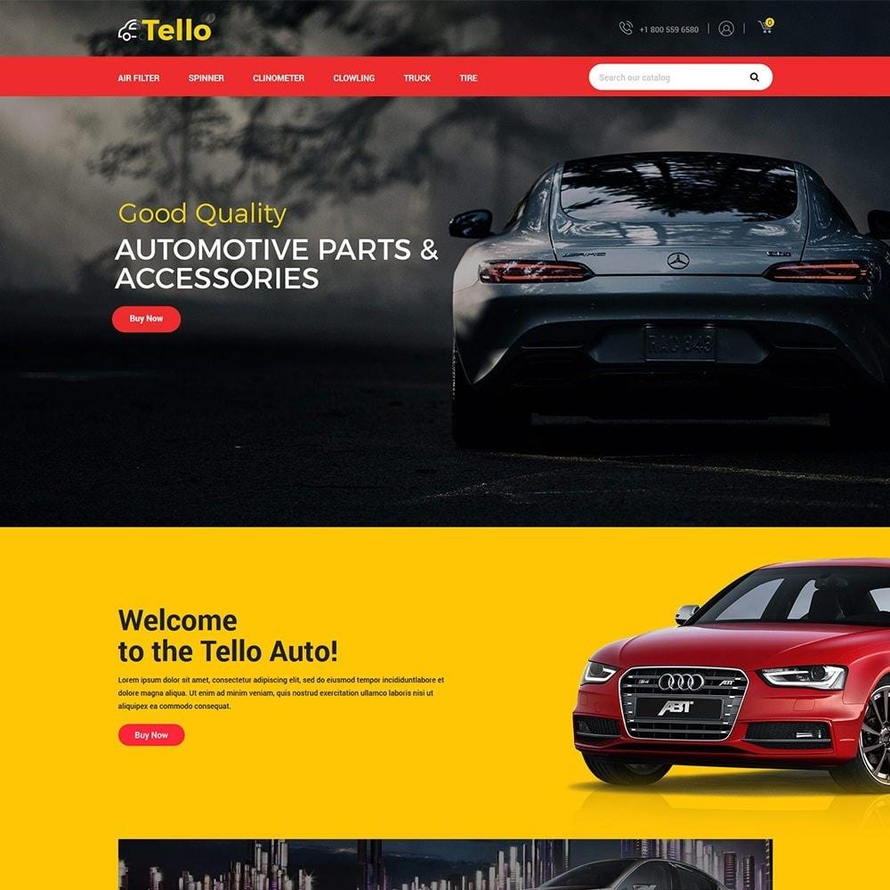 theme - Automotive & Cars - Tello Auto - Car Black Dark - 3