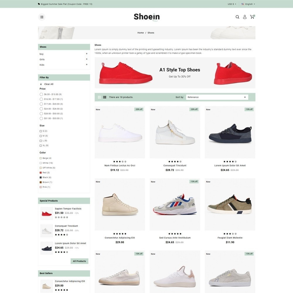 theme - Fashion & Shoes - Shoein Footwear Store - 3
