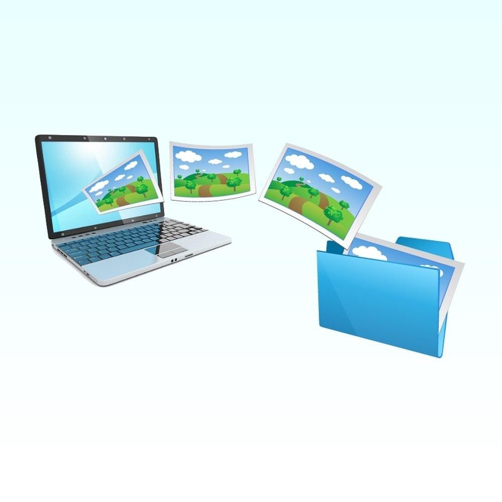 module - Edition rapide & Edition de masse - Importer des images dans le produit - 1