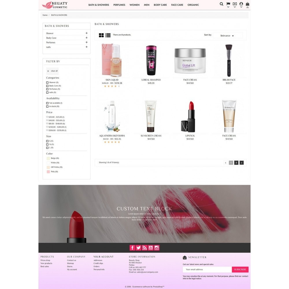theme - Salute & Bellezza - Beauty Cosmetic - 5