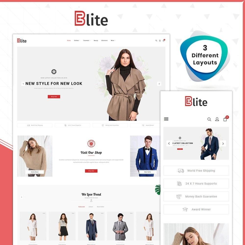theme - Fashion & Shoes - Blite - Fashion Store - 1