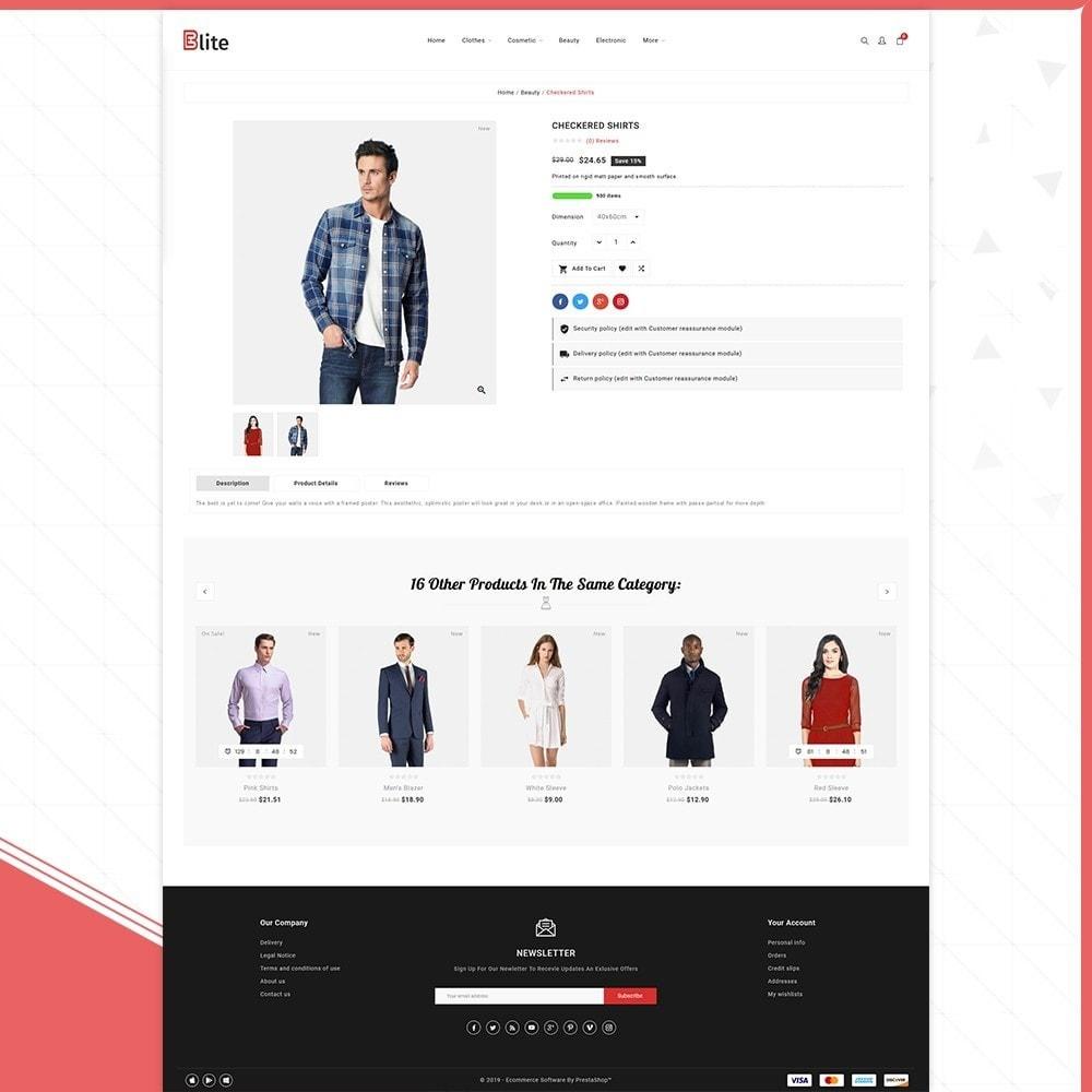 theme - Fashion & Shoes - Blite - Fashion Store - 4