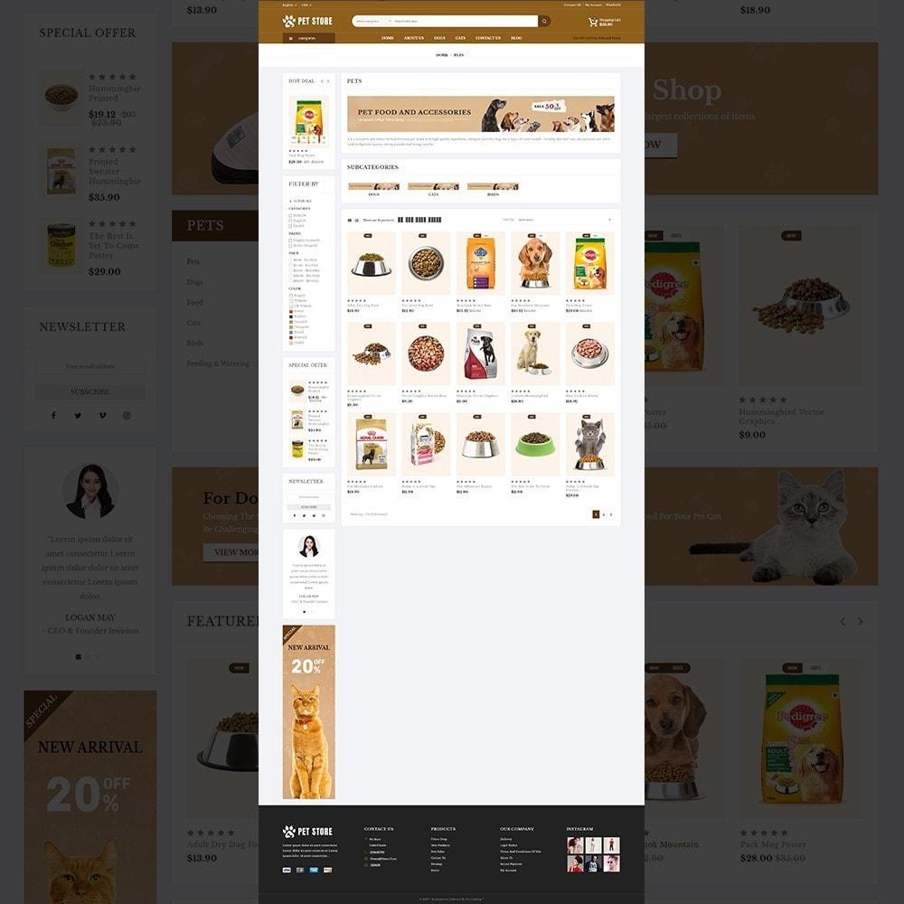 theme - Animali - Petstore – Animals & Pets Store - 11