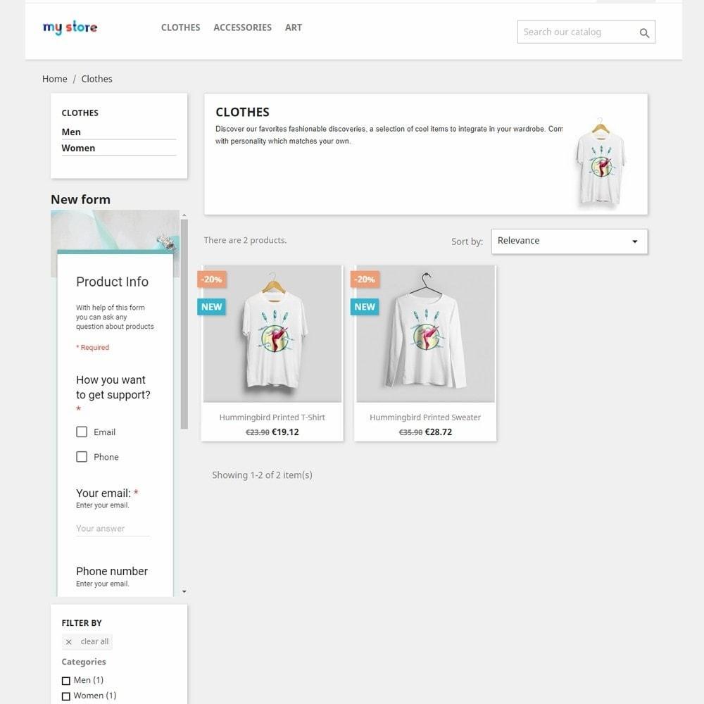 module - Форма обратной связи и Опросы - Google Forms Integration - 3