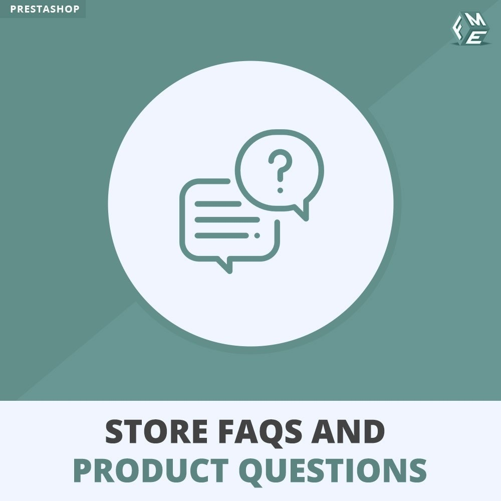 module - FAQ (Frequently Asked Questions) - Store FAQs + Product FAQs (Frequently Asked Questions) - 1
