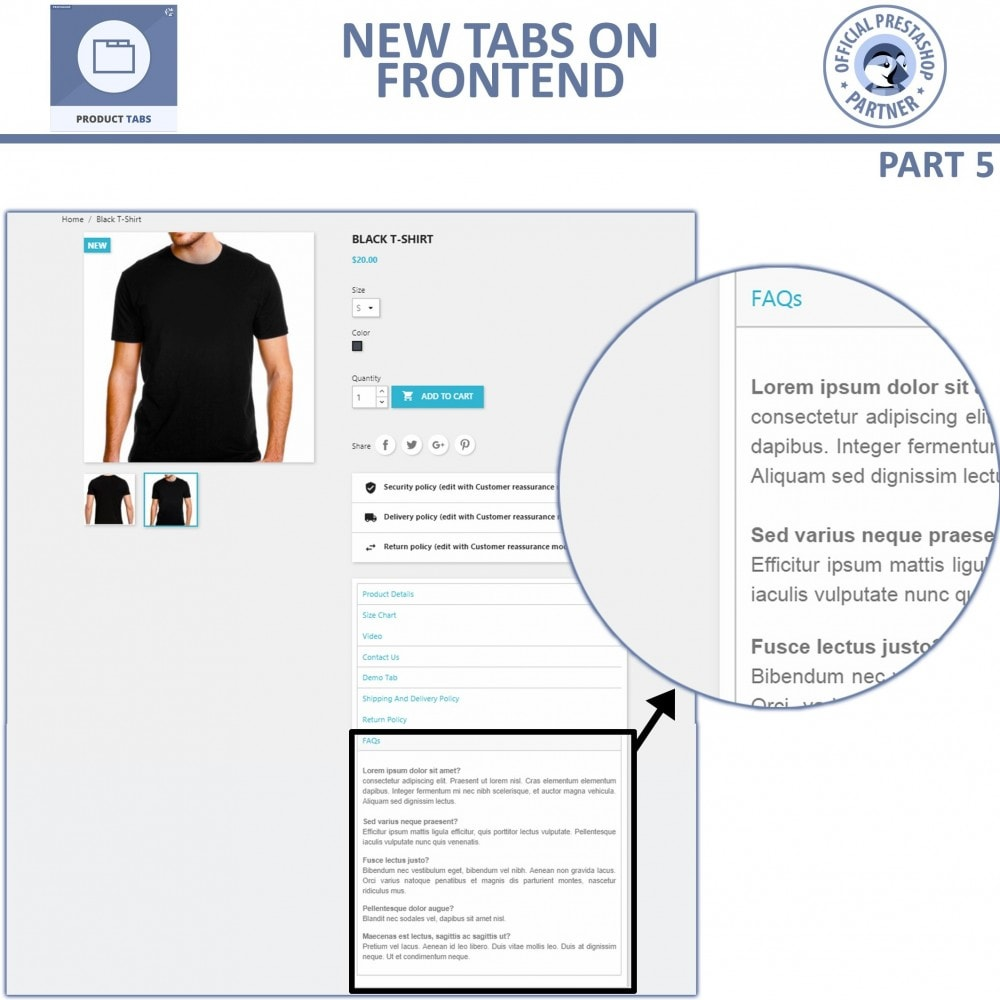 module - Additional Information & Product Tab - Product Tabs - Add Extra Custom Tabs - 11