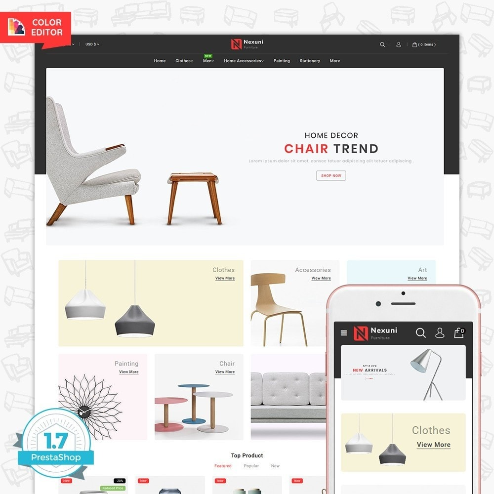 theme - Home & Garden - Nexuni - The Furniture Store - 1