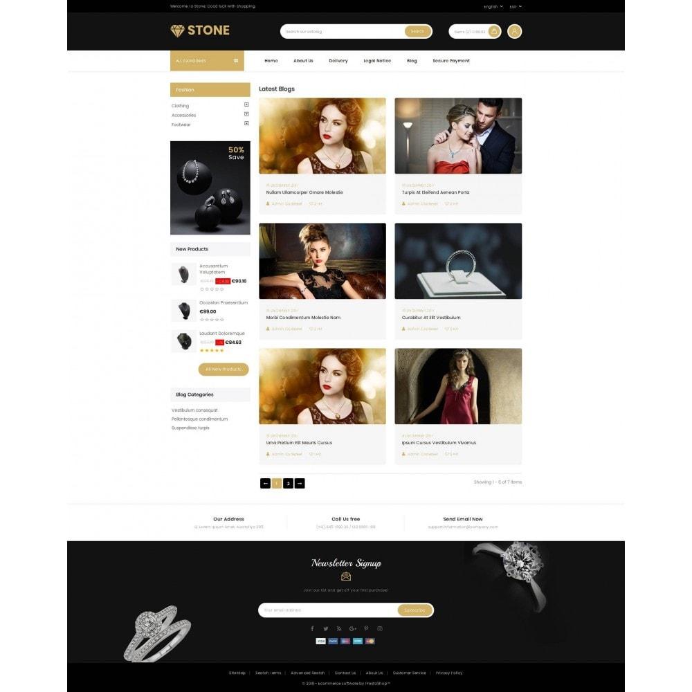 theme - Joalheria & Acessórios - Stone - Jewelry Store - 9