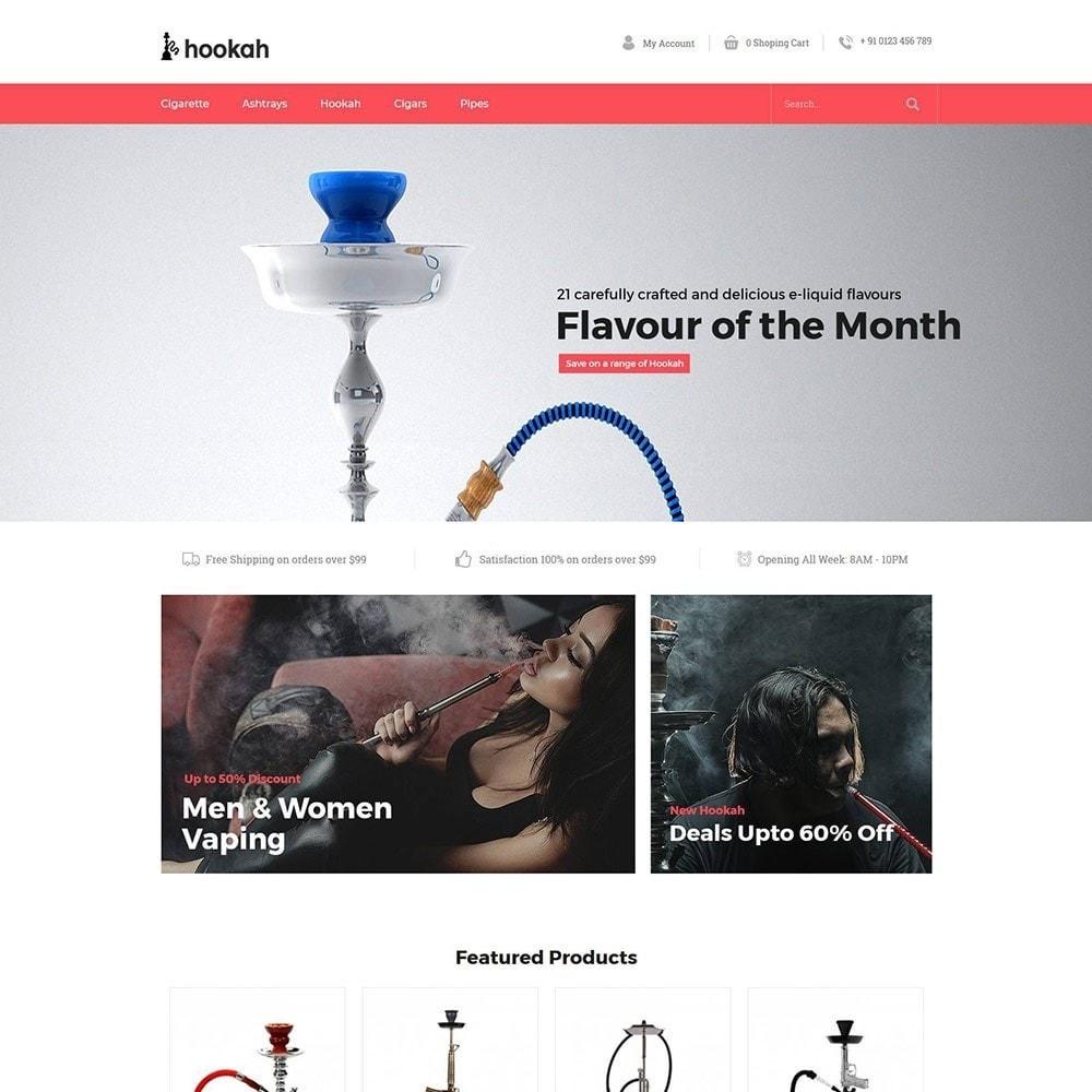 theme - Drink & Tobacco - Hookah - Smoke Bar Store - 2