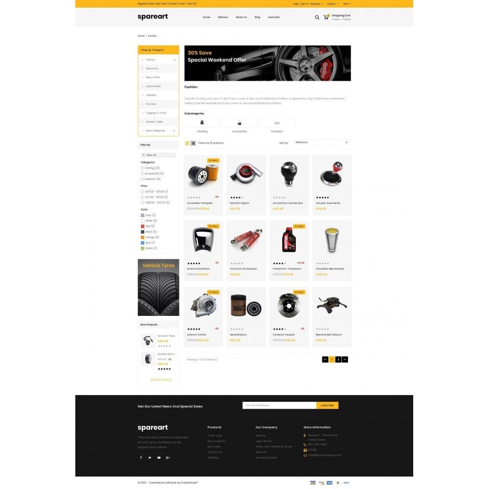 theme - Авто и Мото - Sparearts - Automobile Store - 3