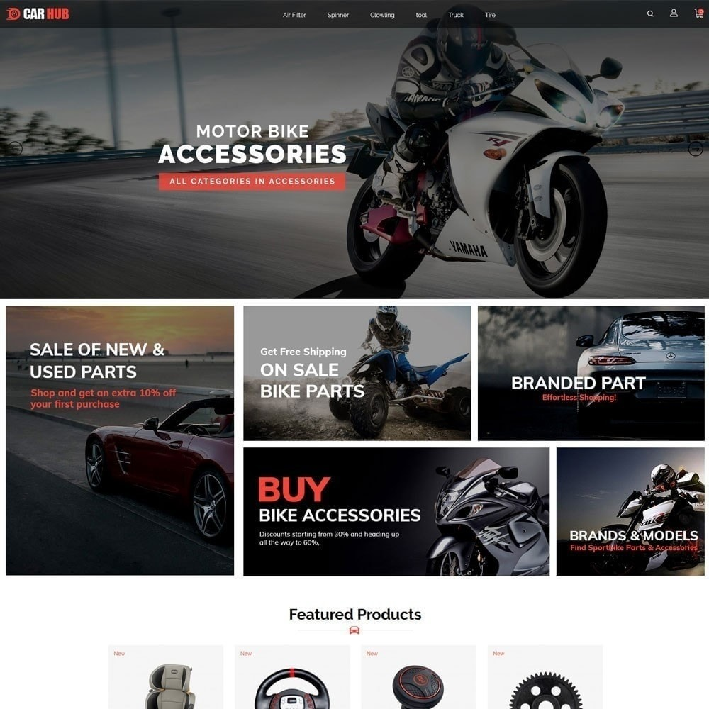 theme - Auto & Moto - Magasin de voitures - 3