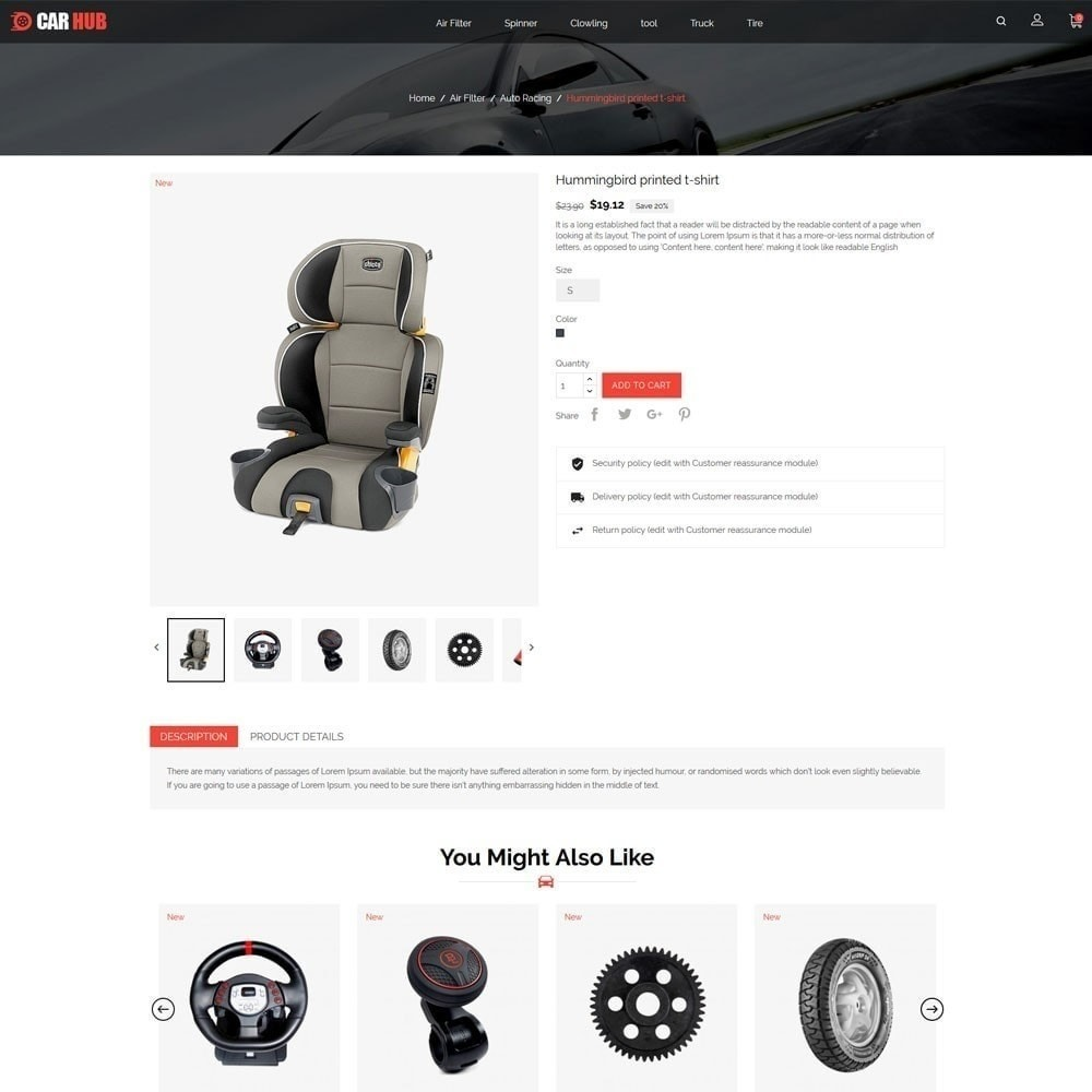 theme - Coches y Motos - Car- Auto Store - 6
