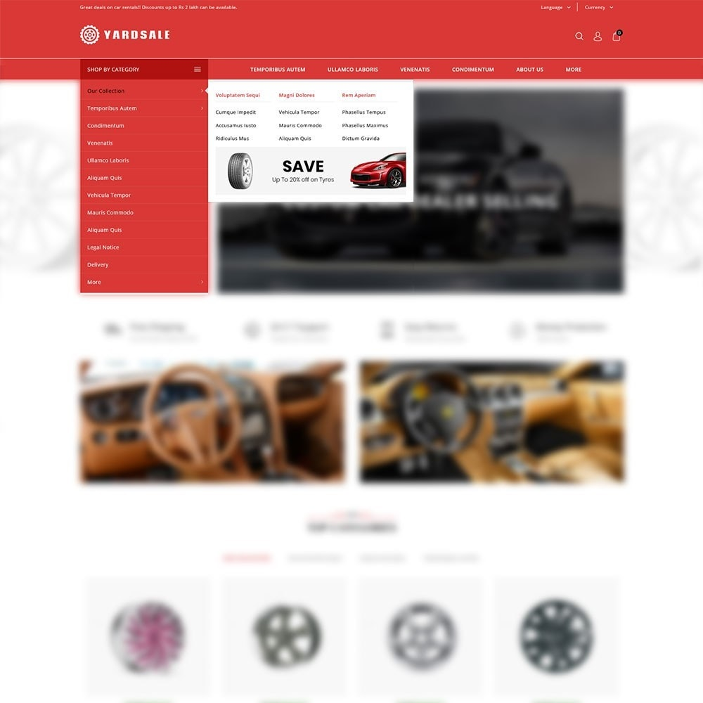 theme - Coches y Motos - Yardsale - The Autoparts Store - 9